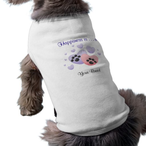 Happiness is a [Breed] Dog Clothes