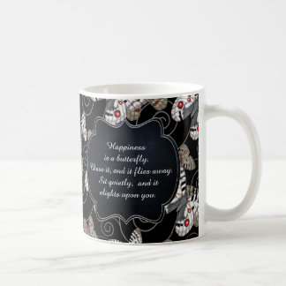 Happiness is a Butterfly: Apollo Butterfly Coffee Mug