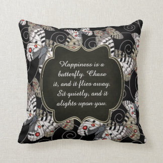 Happiness is a Butterfly: Apollo Butterfly Throw Pillow