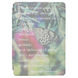 Happiness is a Butterfly - Inspiring Quote iPad Air Cover
