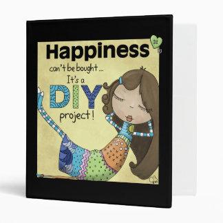 Happiness is a DIY Project Vinyl Binders