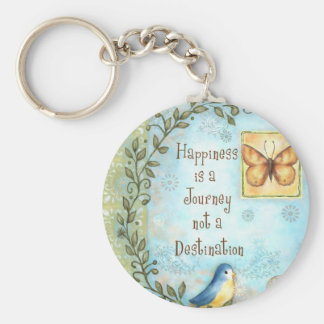 Happiness is a Journey Keychain