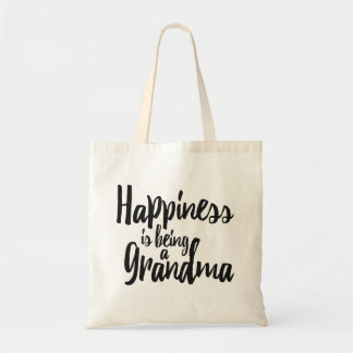Happiness is being a Grandma Tote Bag