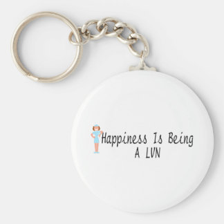 Happiness Is Being A LVN Keychain
