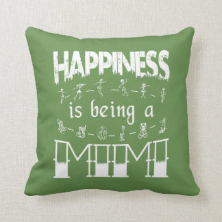 Happiness is Being a MIMI Throw Pillow
