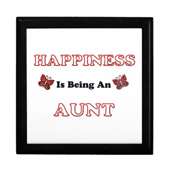 Happiness Is Being An Aunt Gift Box