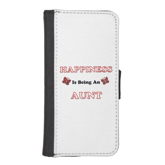 Happiness Is Being An Aunt iPhone SE/5/5s Wallet Case