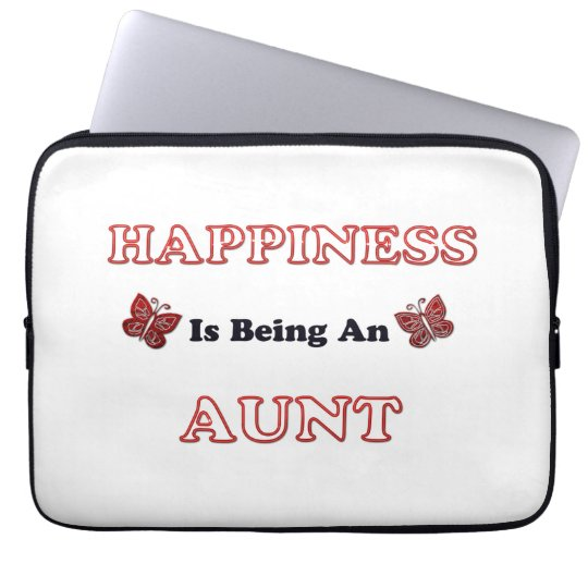 Happiness Is Being An Aunt Laptop Sleeve