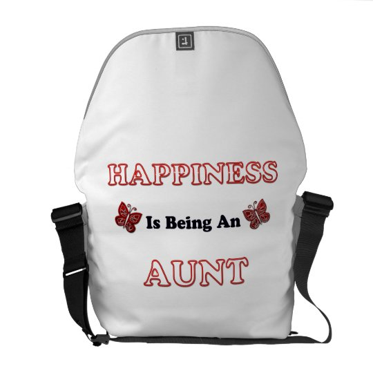 Happiness Is Being An Aunt Messenger Bag