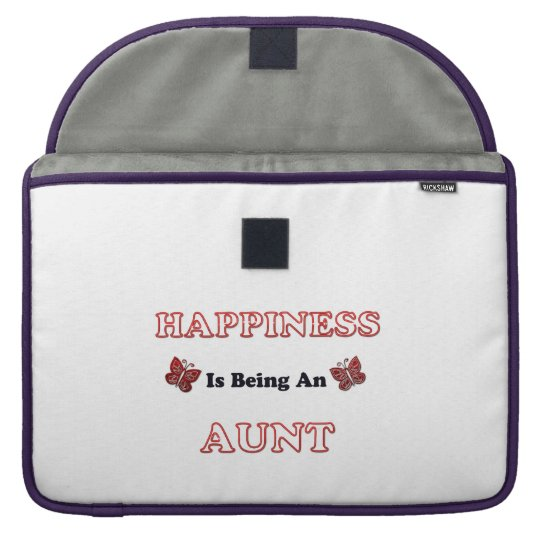 Happiness Is Being An Aunt Sleeve For MacBook Pro