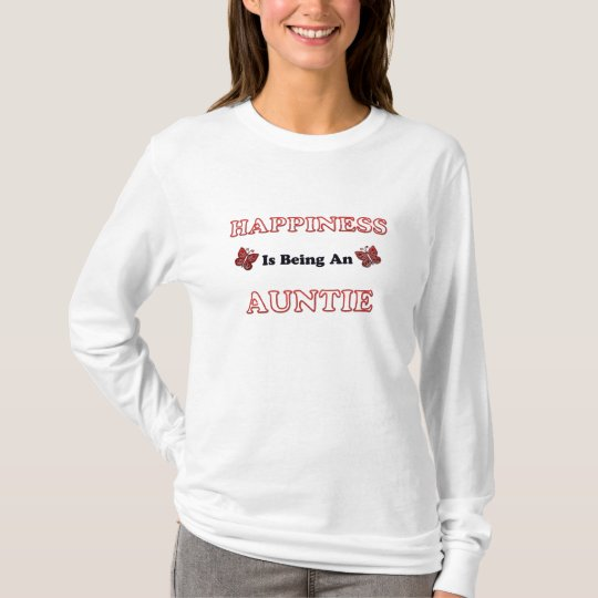 Happiness Is Being An Auntie T-Shirt