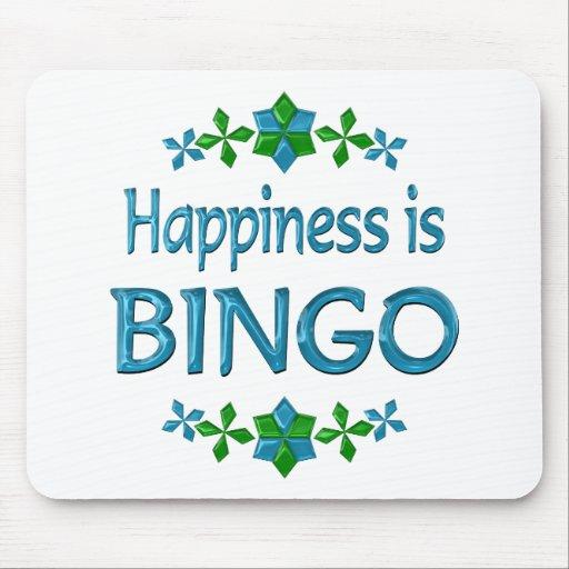 Happiness is Bingo Mousepads