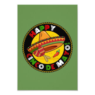Happiness Is Cinco de Mayo Party Invitations