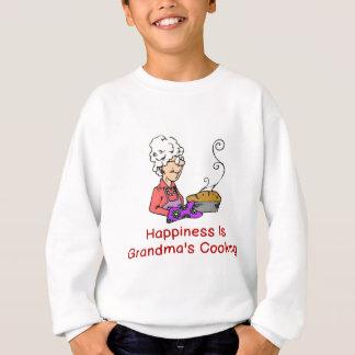 HAPPINESS IS GRANDMA'S COOKING SWEATSHIRT