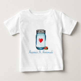 HAPPINESS IS HOMEMADE (MASON JAR) BABY T-Shirt