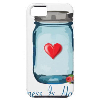 HAPPINESS IS HOMEMADE (MASON JAR) CASE FOR THE iPhone 5