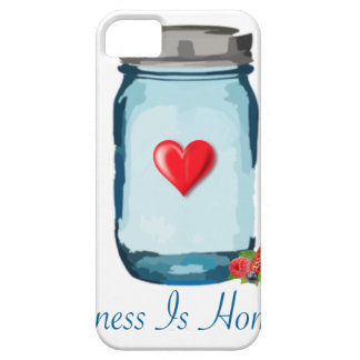 HAPPINESS IS HOMEMADE (MASON JAR) iPhone 5 CASE
