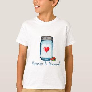 HAPPINESS IS HOMEMADE (MASON JAR) T-SHIRTS