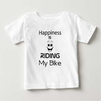 Happiness Is Riding My Bike Baby T-Shirt