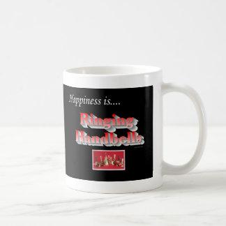 Happiness is... Ringing Handbells Coffee Mug