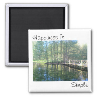 Happiness is simple magnet