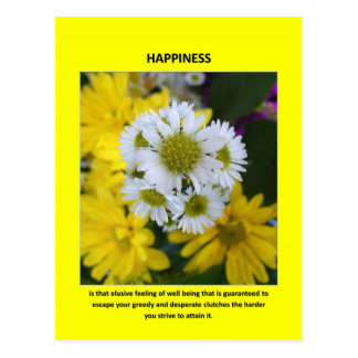 happiness-is-that-elusive-feeling-of-well-being postcard