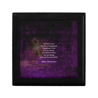 Happiness Is The Key To Success Uplifting Quote Gift Box