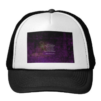 Happiness Is The Key To Success Uplifting Quote Trucker Hat