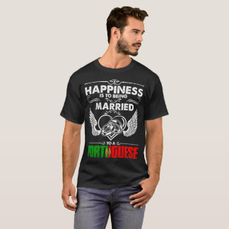 Happiness Is To Being Married To A Portuguese T-Shirt