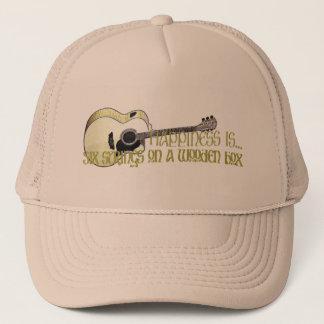 Happiness is... trucker hat