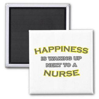 Happiness Is Waking Up Next To a Nurse Magnet