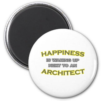 Happiness Is Waking Up Next To an Architect Magnet