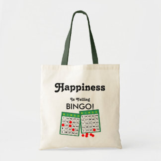 Happiness is Yelling Bingo! Bingo Lovers Tote