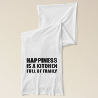 Happiness Kitchen Full Family Scarf