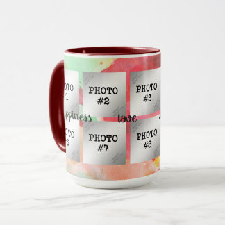 Happiness, Love, Joy, Memories...10-Photo Mug