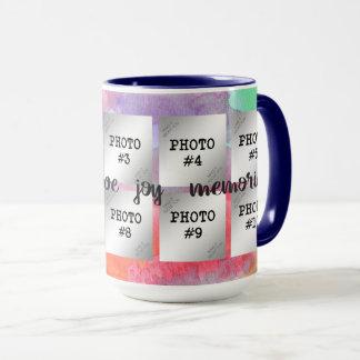 Happiness, Love, Joy, Memories...10 Photo Mug