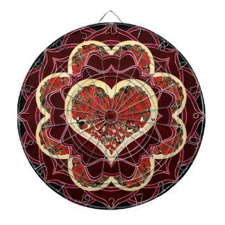 happiness mandala dartboard