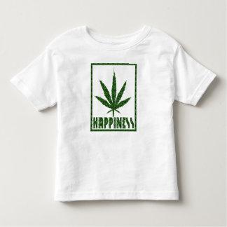 Happiness: Marijuana Toddler T-shirt
