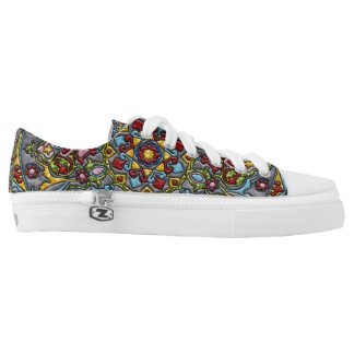 Happiness Medallion Low-Top Sneakers