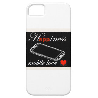 Happiness Mobile Phone Love iPhone 5 Cover