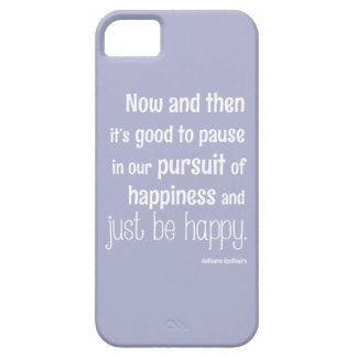 Happiness Motivational Quote Case For The iPhone 5