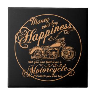 Happiness - Motorcycle Tile