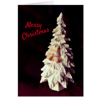 Happiness - Peace Santa Christmas Card jjhelene