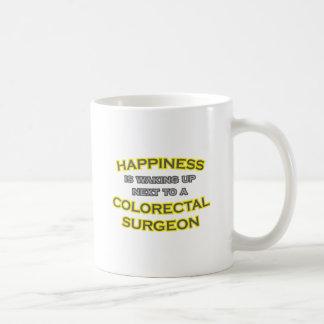 Happiness .. Waking Up .. Colorectal Surgeon Coffee Mug