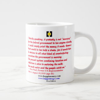 happiquotes - strictly speaking, it probably large coffee mug