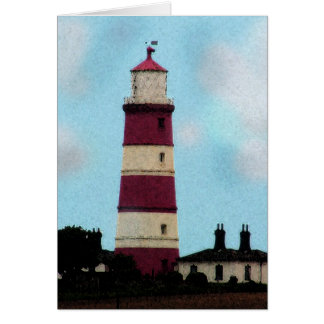 happisburgh lighthouse card
