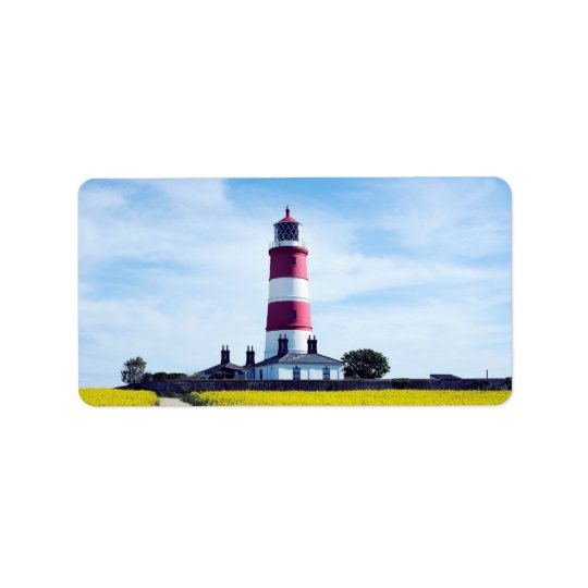 Happisburgh Lighthouse Label