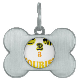 happy2bee a tourist rip me off if you dare pet ID tags