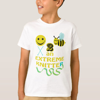 happy2bee an extreme knitter T-Shirt