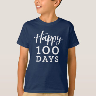 Happy 100 days of school shirt